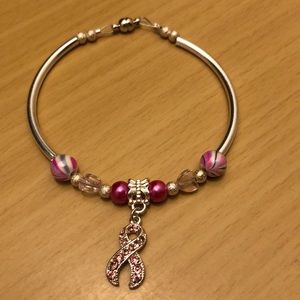 🌸NWOT Breast Cancer Awareness Bracelet🌸